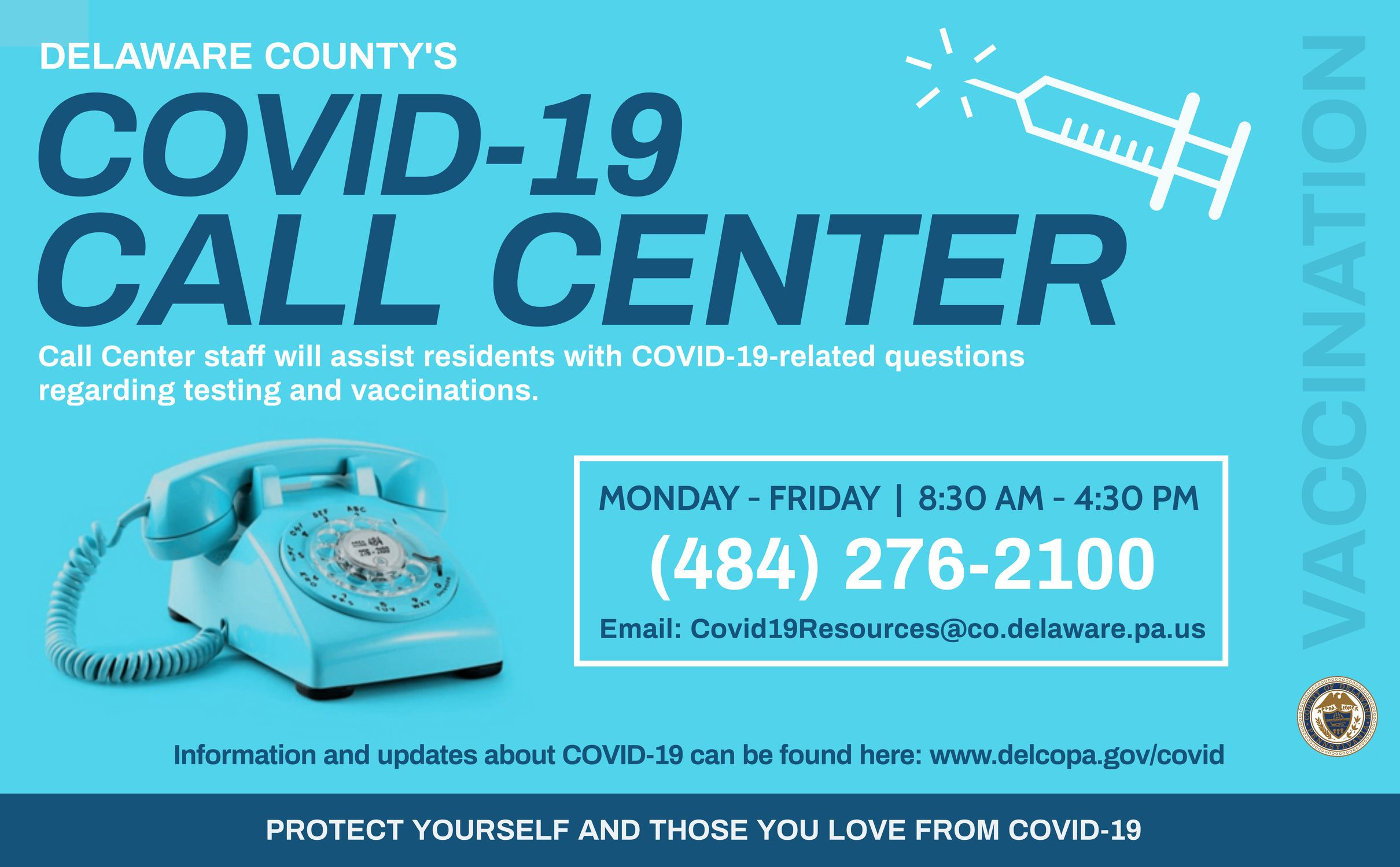 Covid-19 Call Center Flyer English (High Res)