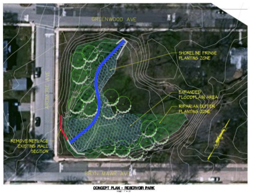 Reservoir Park Streambank Restoration Project