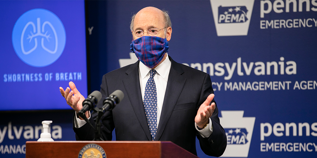 Gov-Wolf-wearing-a-mask-at-PEMA